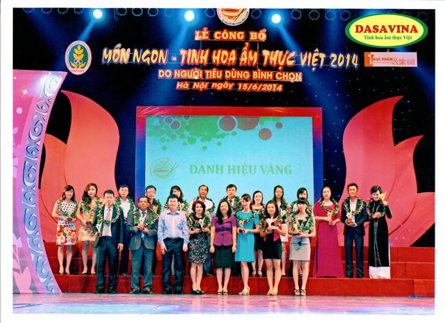 Danh hiệu vàng món ngon tinh hoa ẩm thực Việt