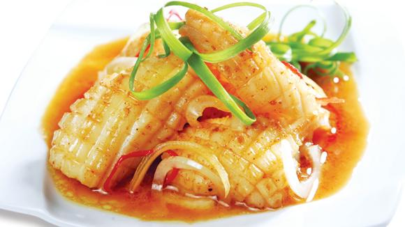 Món mực khìa dừa thơm ngon bổ dưỡng